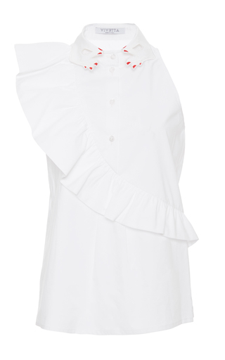Medium vivetta white marlene shirt