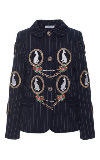 Medium vivetta blue patrizia jacket