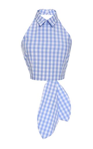 Medium vivetta light blue omar top