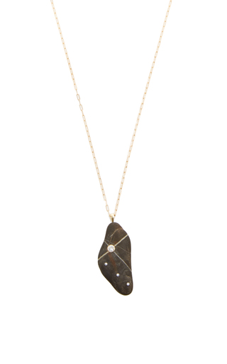 One Of A Kind Cometa Stone Necklace by CVC STONES Now Available on Moda Operandi
