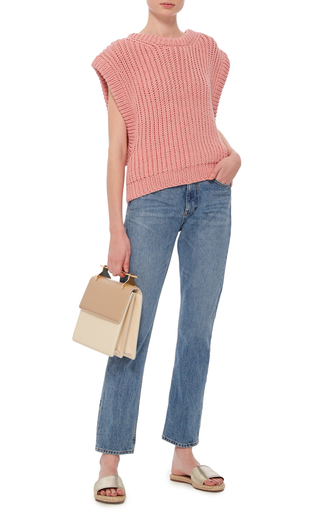 Sleeveless Knit Top by I LOVE MR. MITTENS Now Available on Moda Operandi