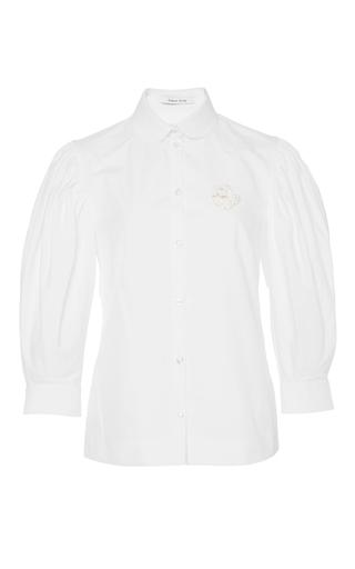 Cotton Poplin Puff Sleeved Shirt by SIMONE ROCHA Now Available on Moda Operandi