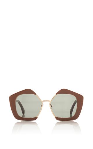 Medium marni brown brown sunglasses