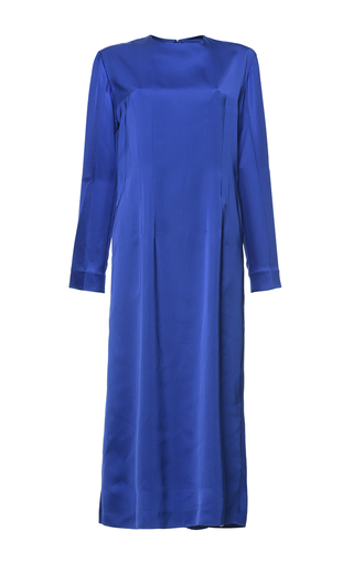 Medium marni blue mazarine blue midi dress