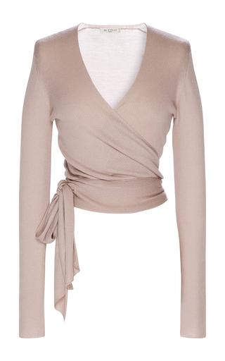 Medium etro tan long sleeve ballet cardigan