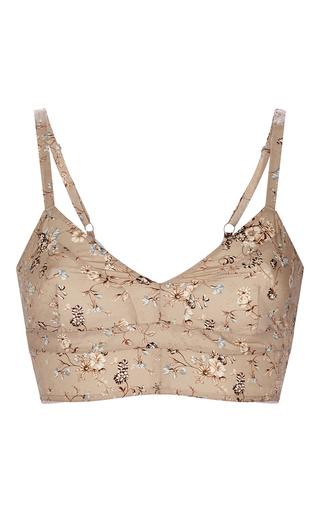 Medium etro multi camel floral bra top