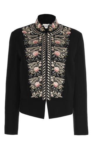 Medium vilshenko black freya pompadour embroidered jacket