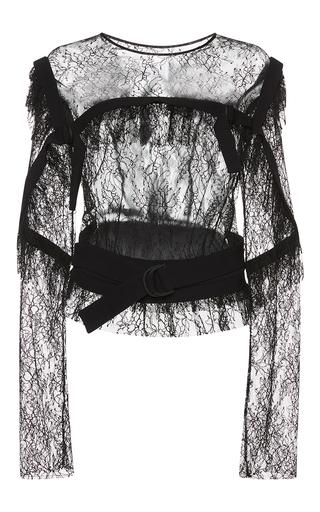 Medium preen black avery blouse