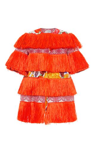 Medium stella jean orange fresatore jacket