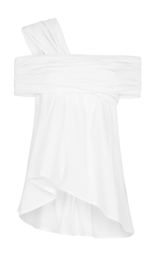 Medium maticevski white enfold top