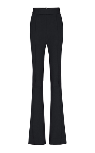 Medium maticevski black defending flare trouser