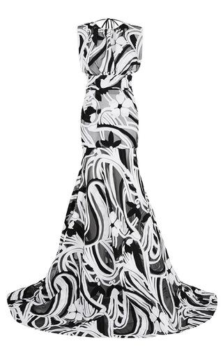 Medium maticevski black action gown