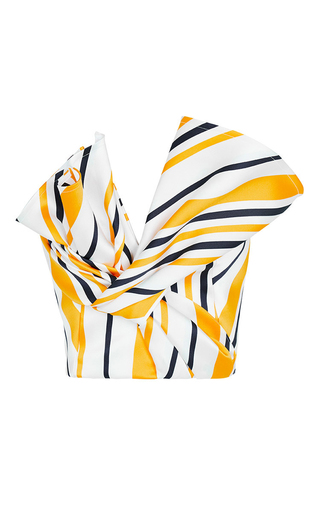 Medium maticevski yellow striped magnificent bodice
