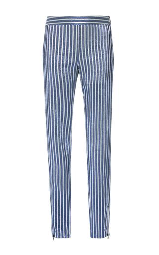 Medium giamba blue embellished skinny pant