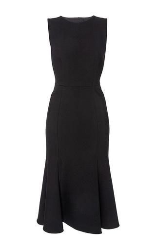 Medium dolce gabbana black black sleeveless double crepe dress