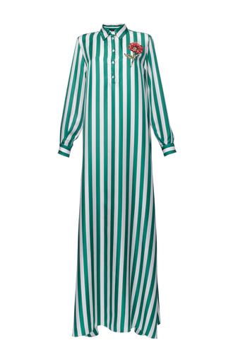 Medium dolce gabbana stripe striped twill caftan