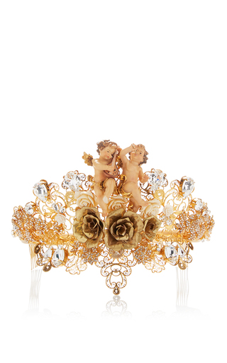 Medium dolce gabbana gold gold hairpiece