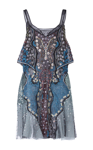 Medium mary katrantzou blue admiral dress
