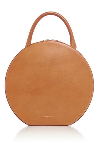 Medium mansur gavriel tan tan leather circle bag