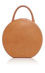 Cammello Leather Circle Bag by MANSUR GAVRIEL Now Available on Moda Operandi