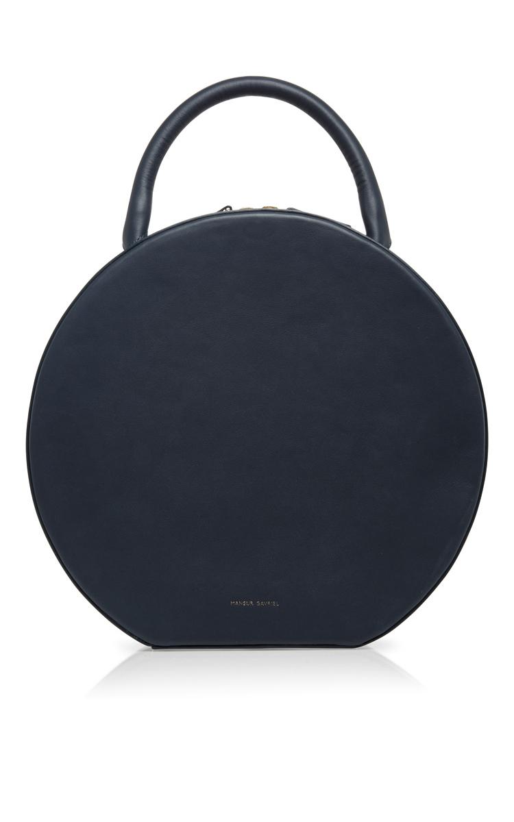 Mansur Gavriel Mini Circle Leather Bag fwIvQa