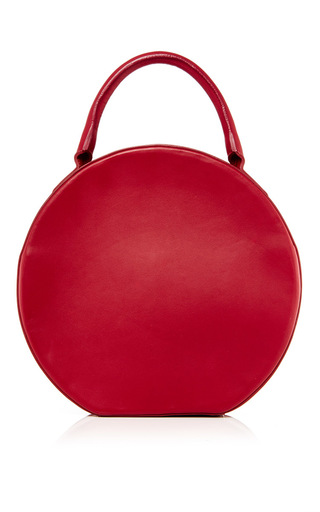 Rococo Leather Circle Bag by MANSUR GAVRIEL Now Available on Moda Operandi
