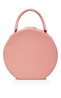 Pink Leather Circle Bag by MANSUR GAVRIEL Now Available on Moda Operandi