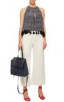 Blu Calf Leather Lady Bag  by MANSUR GAVRIEL Now Available on Moda Operandi