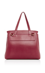 Red Calf Leather Lady Bag  by MANSUR GAVRIEL Now Available on Moda Operandi