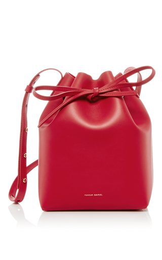 Flamma Mini Bucket Bag by MANSUR GAVRIEL Now Available on Moda Operandi
