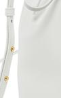 White Blu Mini Bucket Bag by MANSUR GAVRIEL Now Available on Moda Operandi