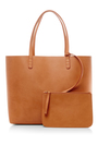 Cammello And Gold Tote  by MANSUR GAVRIEL Now Available on Moda Operandi