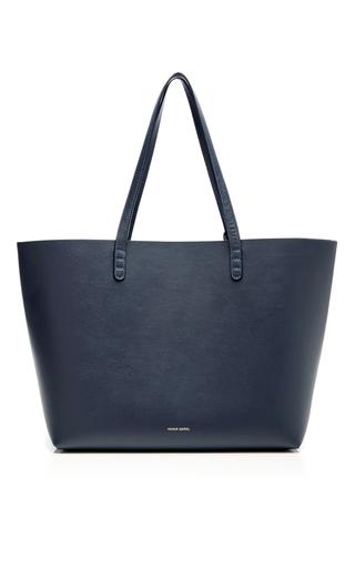 Medium mansur gavriel navy blu large tote bag