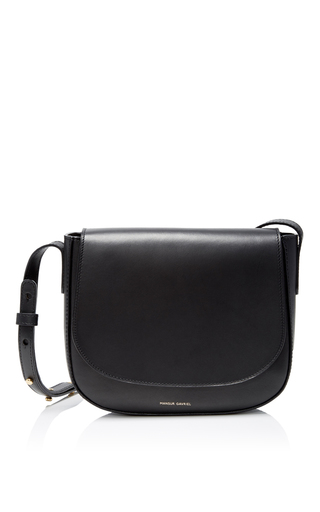Medium mansur gavriel black black mini crossbody bag