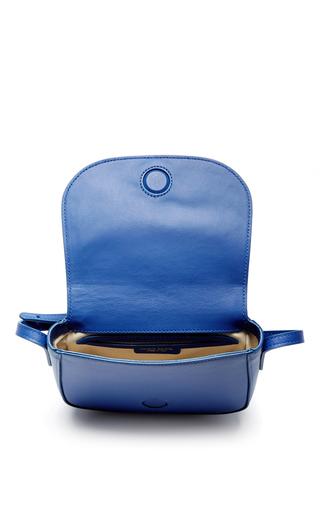 Royal Blue Mini Crossbody Bag  by MANSUR GAVRIEL Now Available on Moda Operandi
