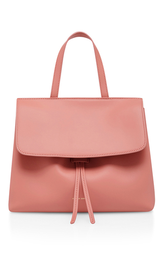 Medium mansur gavriel light pink mini lady bag