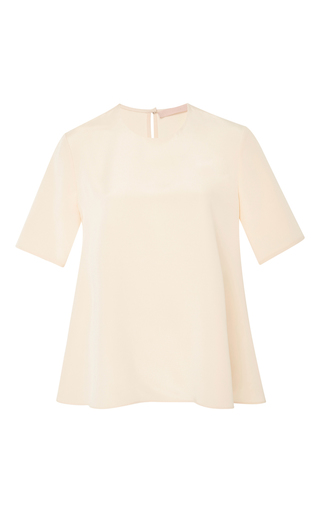 Medium brock nude bette flowy blouse