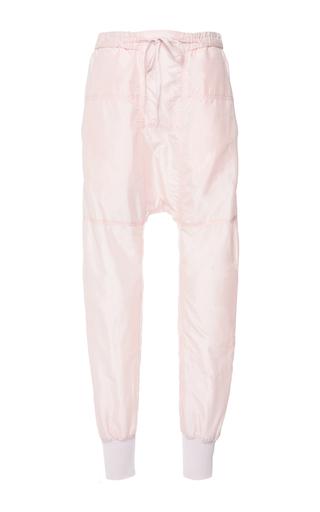 Medium isabel marant light pink light pink sporty silk keegan trousers