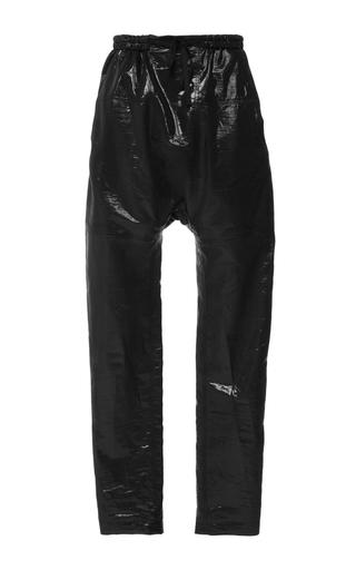 Medium isabel marant black black metallic silk niall trousers