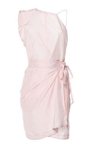 Medium isabel marant light pink sporty silk kimmy dress