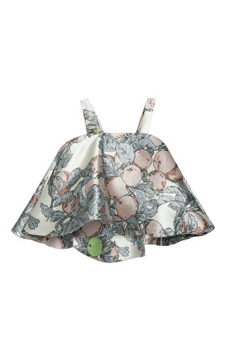 Shoulder Strap Flouncy Printed Top by VIKA GAZINSKAYA Now Available on Moda Operandi