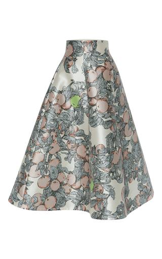 Printed Flared Midi Skirt by VIKA GAZINSKAYA Now Available on Moda Operandi