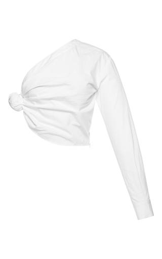 Medium jacquemus white knotted shirt