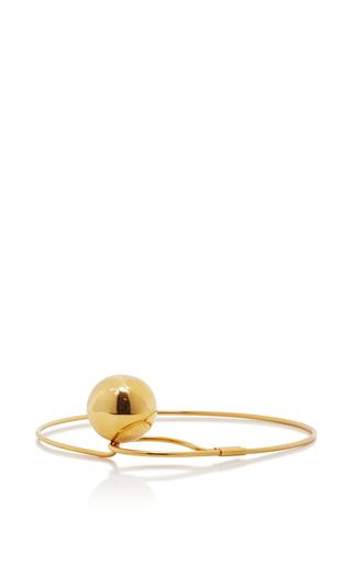 Medium marni gold metal choker with circular pendant
