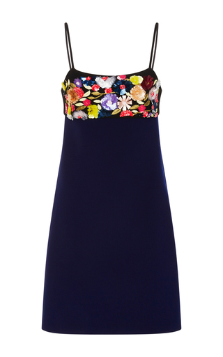 Medium clover canyon multi solids dress with embellished bodice