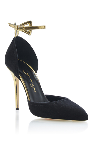 Medium oscar de la renta black purvi pump