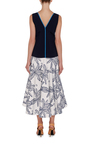 Cotton Palm Blandford Dress by ROLAND MOURET Now Available on Moda Operandi