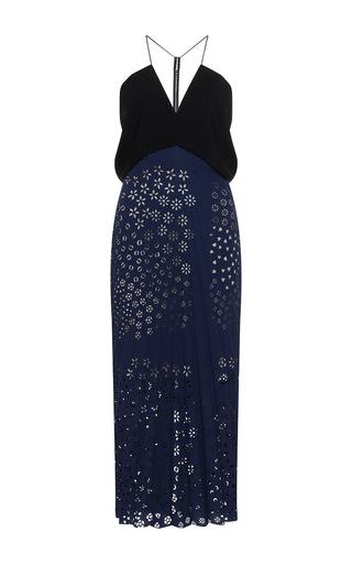 Medium roland mouret navy orsett dress