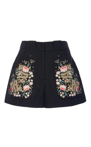 Medium vilshenko multi olga embroidered shorts