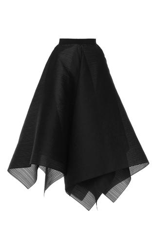 Medium maison rabih kayrouz black wired organza handkerchief circle skirt